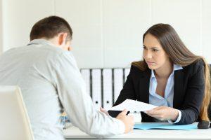 Sanctiunile disciplinare la locul de munca