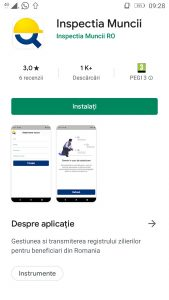 Aplicatia Inspectia Muncii