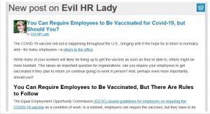 Newsletter de HR