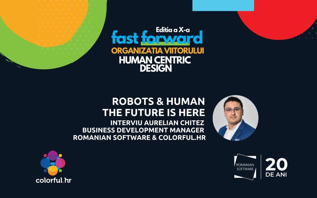 robot & human the future is here vizual